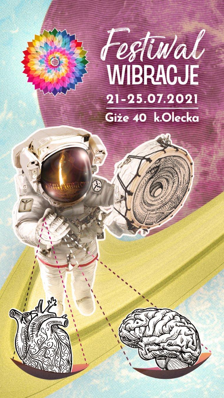 Festiwal Wibracje 21-25.07. 2021 miejscowość GIŻE