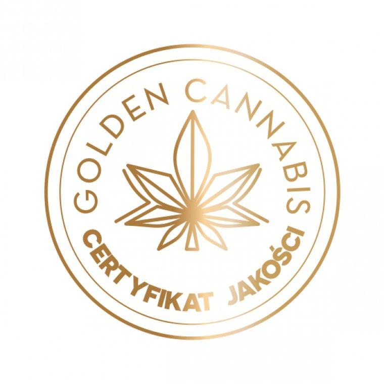 golden canabis - logo zloto